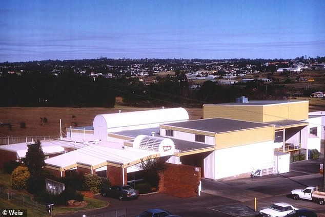 The company was purchased by Unilever in 2017, and the new owners announced on Thursday that they had made the 'difficult decision' to close the Toowoomba factory (pictured) and relocate to Minto, New South Wales