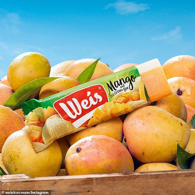 Ice cream company Weis (bar pictured) has shut down its original factory two years after being bought out by multinational giant Unilever