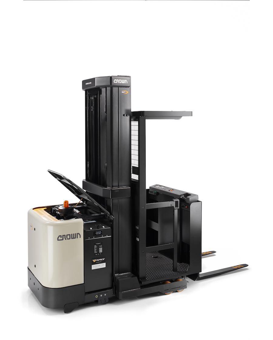 Crown Equipment Now Offers Line of Lithium-Ion-Powered Forklifts