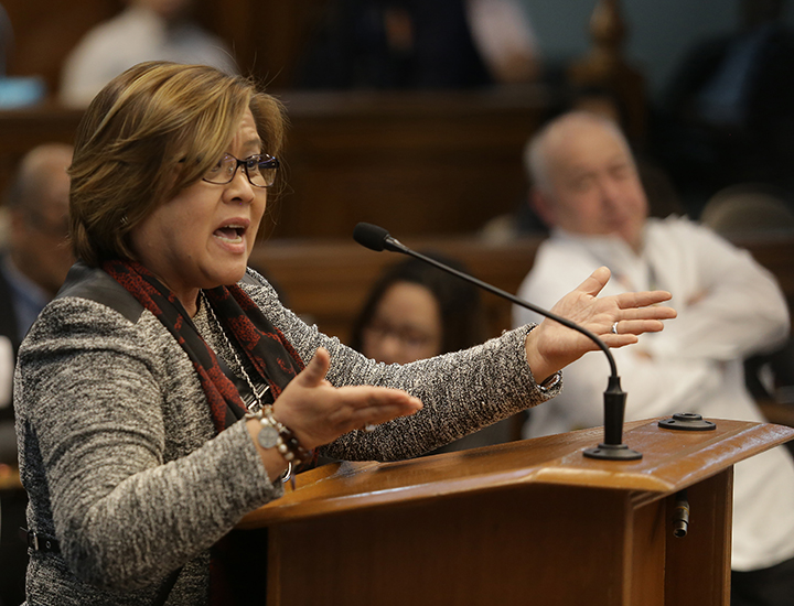 Senator Leila de Lima (MANILA BULLETIN FILE PHOTO)