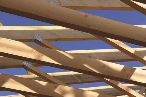 timber frame shutterstock_100244231
