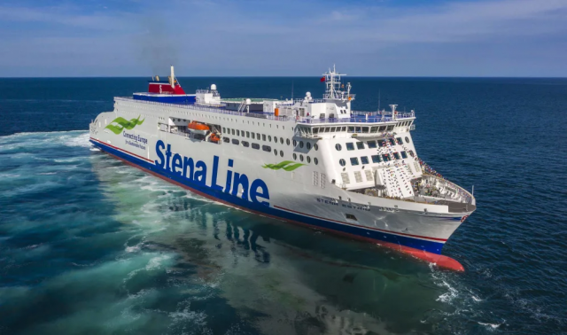 Stena Estrid will debut the E-Flexer generation in the intensely competitive short-sea traffic (photo courtesy of Stena Line).