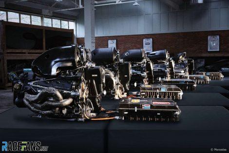 Mercedes F1 power units
