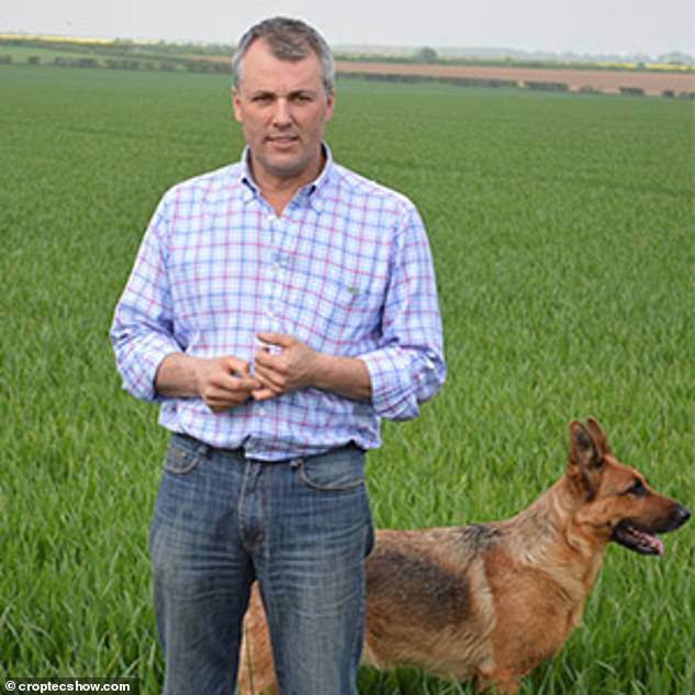 Andrew Ward, who has 1,600 acres of arable land in Lincolnshire, claimed Conservative MPs had kicked farmers in the teeth
