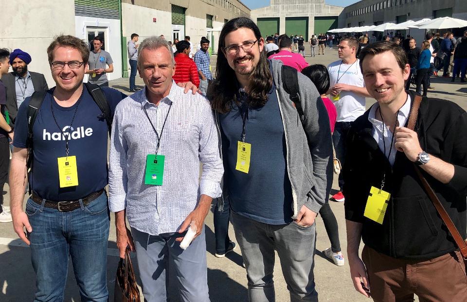 Handle Founders with Joe Montana.