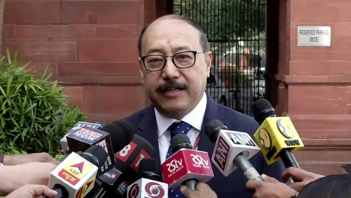 File image of Foreign Secretary Harsh Vardhan Shringla | Photo: ANI