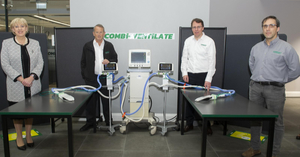 Combilift employees with Combi-Ventilate