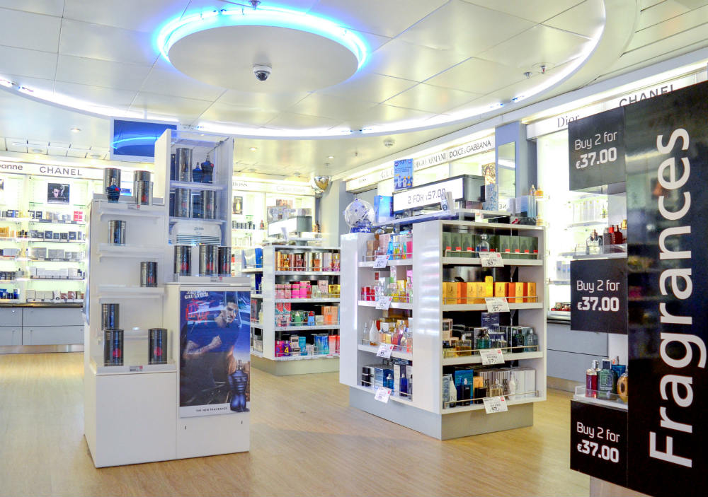 Fragrances area DFDS