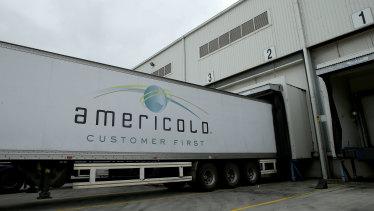 An Americold cool storage facility in Melbourne, Australia.