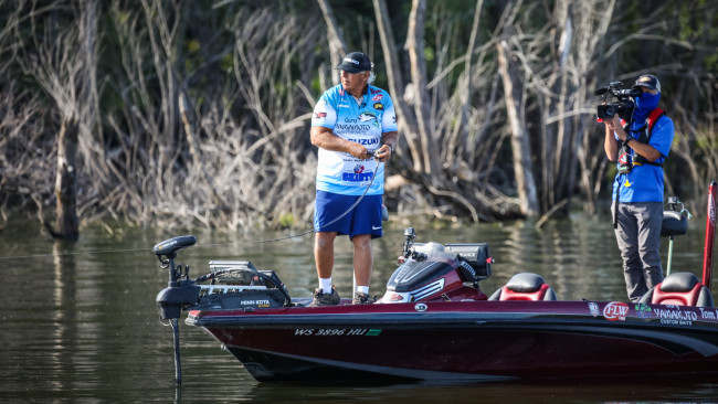 Monsoor Holds Lead Heading into Final Day at Tackle Warehouse Pro Circuit at the Mississippi River presented by OPTIMA Batteries