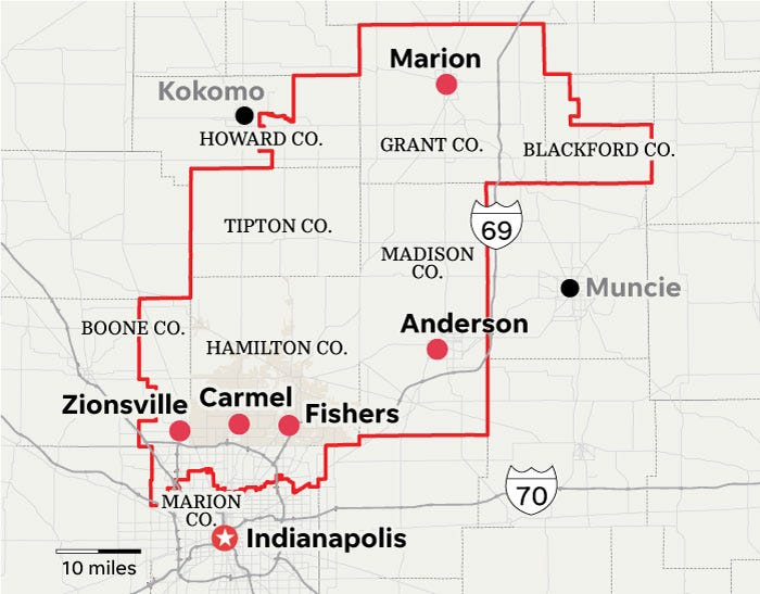 Indiana's 5th congressional district.