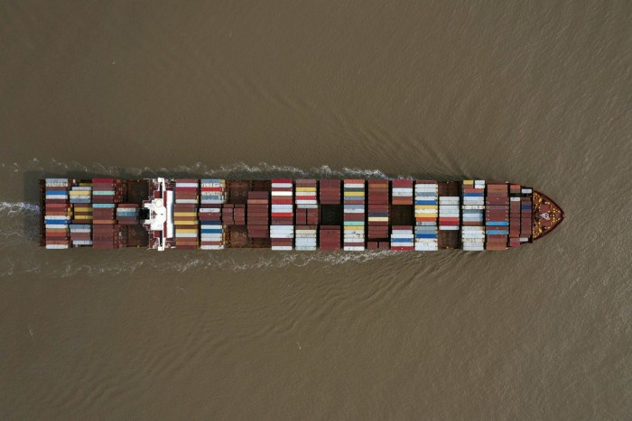 Seaborne container volumes have increased nearly every year over the past four decades, from about 100m tonnes in 1980 to 1.8bn tonnes in 2017, according to the UN
