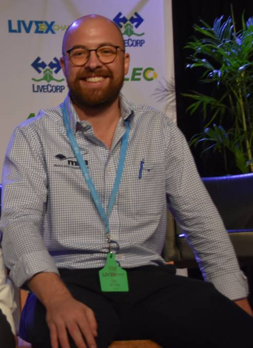 Meat & Livestock Australia's manager of global trade development based in Singapore, Tim Ryan.