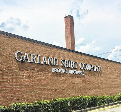The Garland Shirt Company in Sampson County is being considered as a manufacturing facility for several companies.