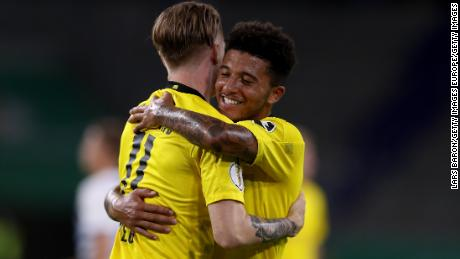 Jadon Sancho is one of the latest youngsters to appear in the first team.