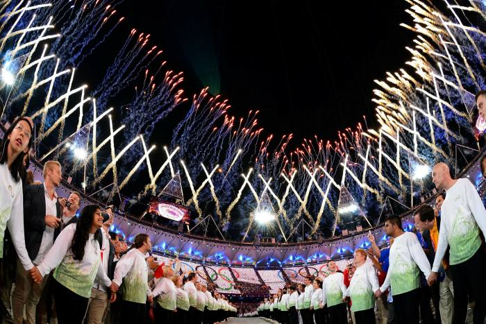 According to the researchers, the cost overrun for the London 2012 Olympics was 76%
