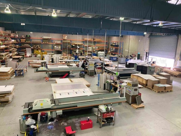 Up for auciton: Craftech equipment and plant