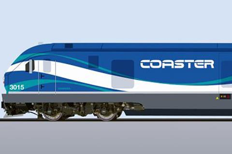 North County Transit District has ordered five Siemens SC-44 Charger diesel-electric locomotives for Coaster commuter services.