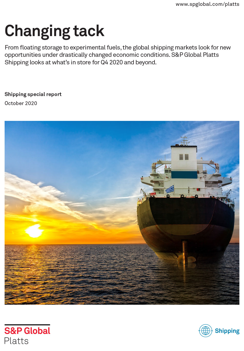 Shipping freight report outlook 2020 Q4