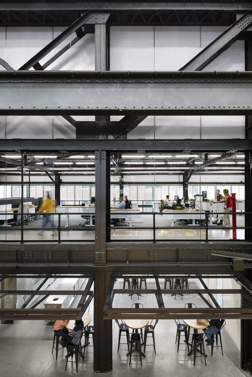 Inside of Crye Precision Headquarters by MN DCP in Brooklyn, New York