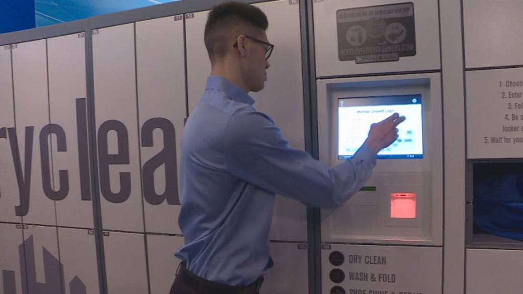 Click to play video 'Unmanned services becoming more popular'