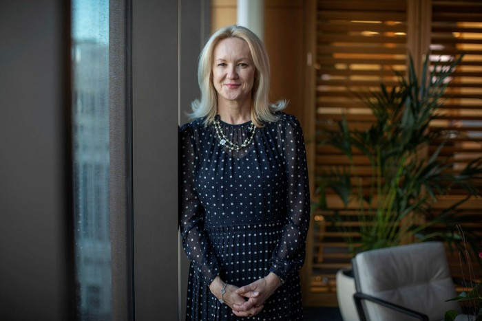 Clare Woodman, head of Morgan Stanley's international business: 'On a personal level, lots of people were worried about [survival].'