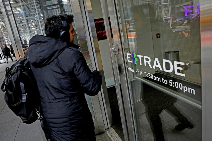 Analysts note that fallout from the Covid crisis means interest rates will stay lower for longer, restraining ETrade's profitability