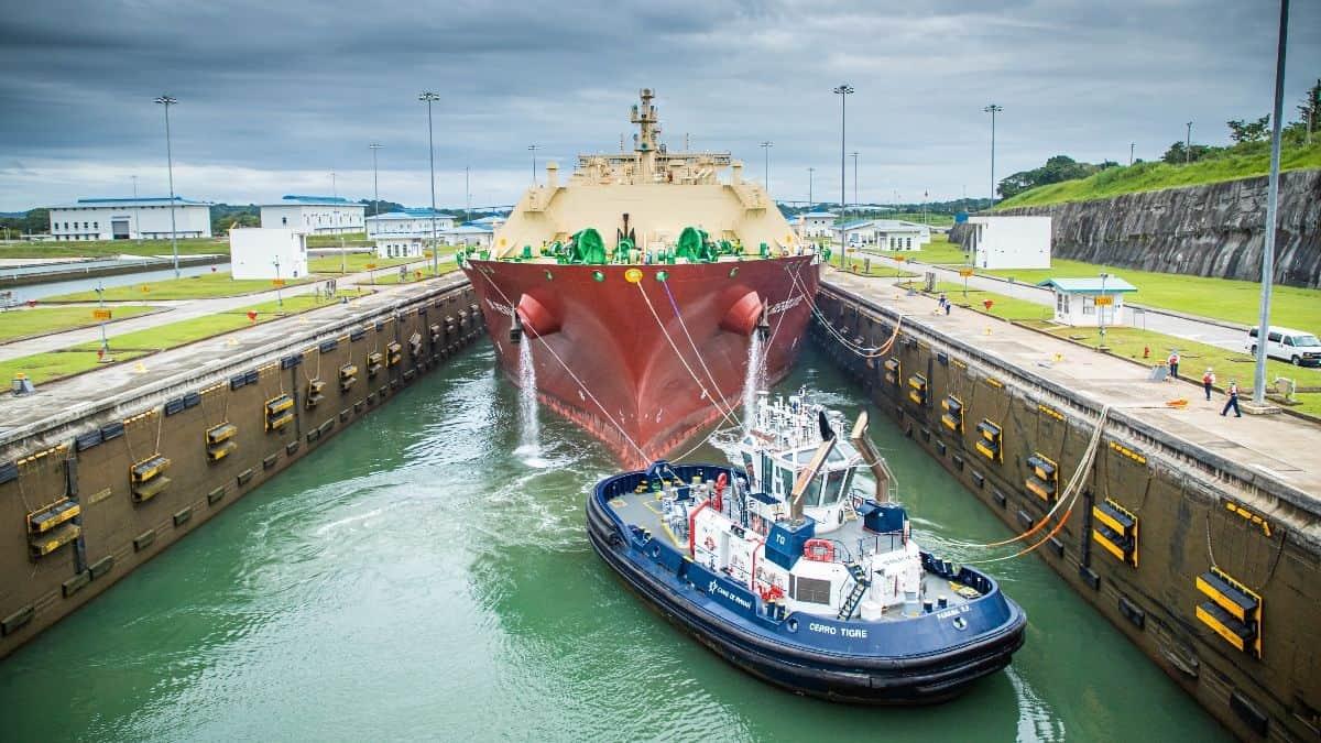 Panama Canal transit