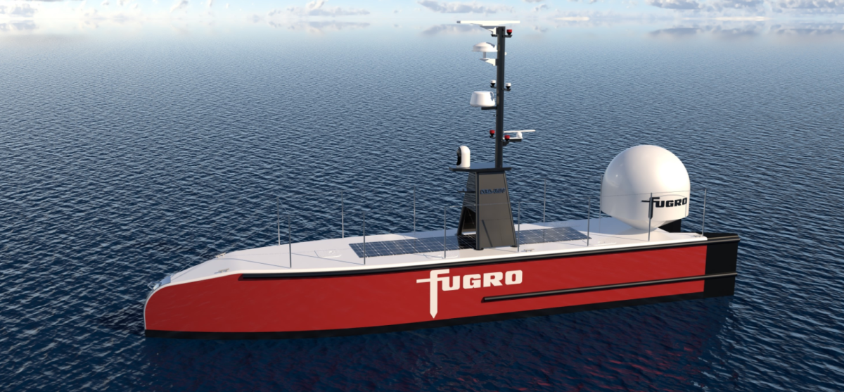 Dutch geo-data specialist Fugro has ordered two uncrewed surface vessels (USVs) from Sea-Kit International, the first of which will be deployed in oil and gas pipeline inspections in Western Australia in 2021.