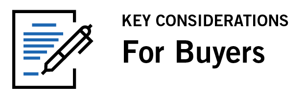 Key Considerations For Buyers