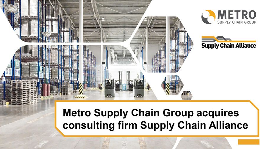 Metro Supply Chain Group acquires Toronto-based Supply Chain Alliance