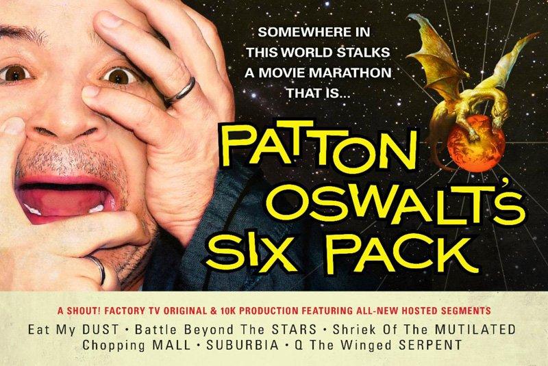 Patton Oswalt's Six Pack Movie Marathon Coming to Shout! Factory TV