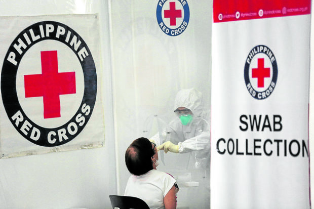 Red Cross stops PhilHealth-funded COVID-19 testing over insurer's P930-M debt