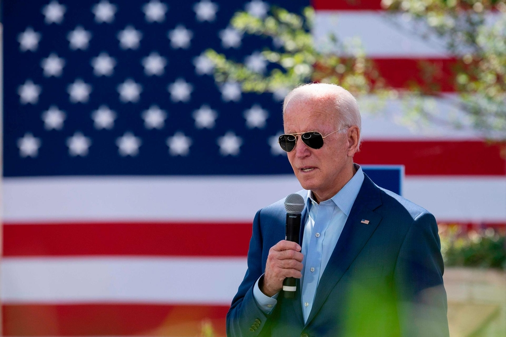 Democratic presidential candidate Joe Biden is expected to increase corporatetax from 21 per cent to 28 per cent, which will hit company profits. AFP