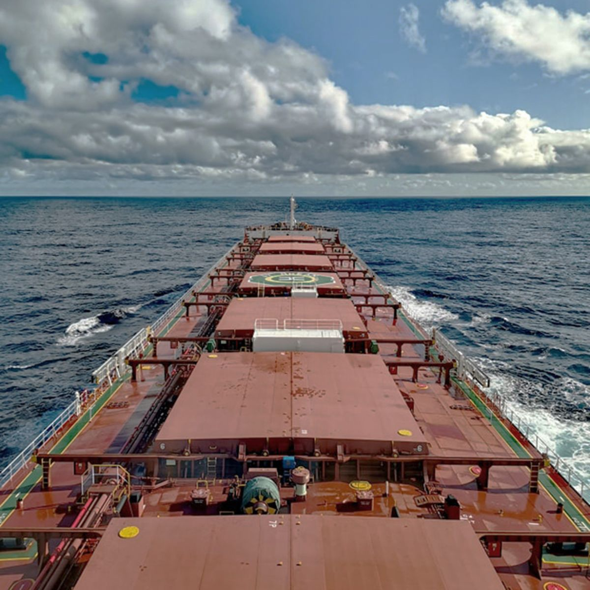 By August, almost half of the 20-person crew on-board the JY Ocean bulk carrier had been at sea for more than a year.