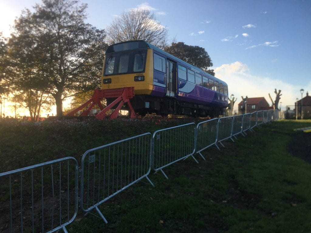Network Rail teams in the North East have volunteered their skills to help a primary school in County Durham acquire two disused railway carriages and convert them into a school library.