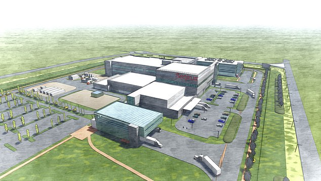 An artist's impression of the new factory at Tullamarine's Melbourne Airport Business Park