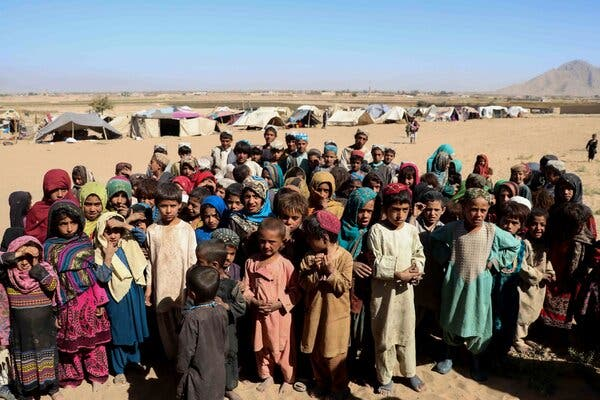 The U.N announced that $100 million from a disaster emergency fund will be used to avert famine in countries such as Afghanistan, where there are almost 2.5 million registered refugees.