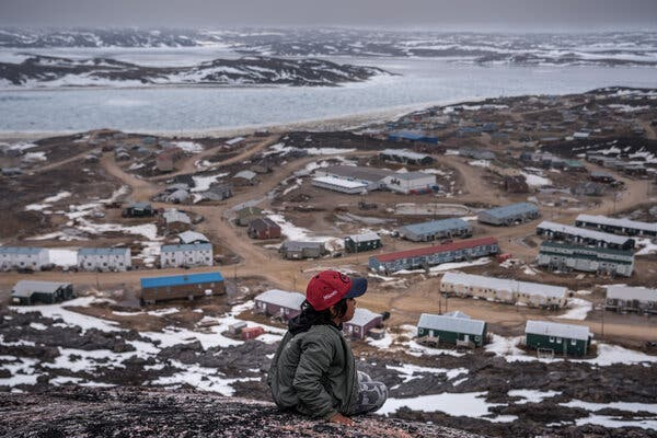 Cape Dorset in the Canadian territory of Nunavut, where the coronavirus first appeared this month.