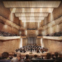 National Concert hall in Vilnius, Lithuania. Image Courtesy of independent design professionals