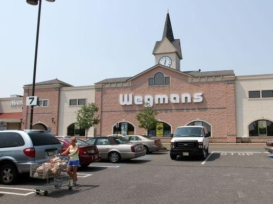 The exterior of Wegmans on Route 35 in Ocean Township is seen in this 2011 photo.