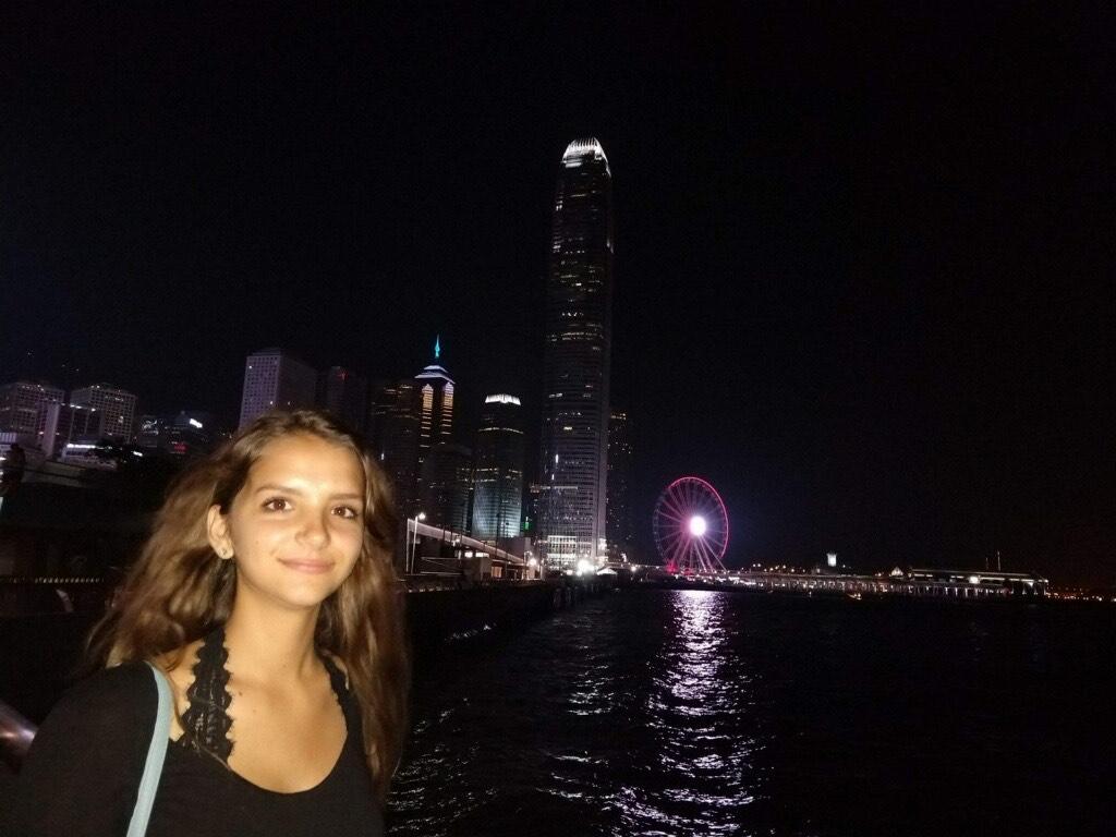 Lefler at Causeway Bay in Hong Kong