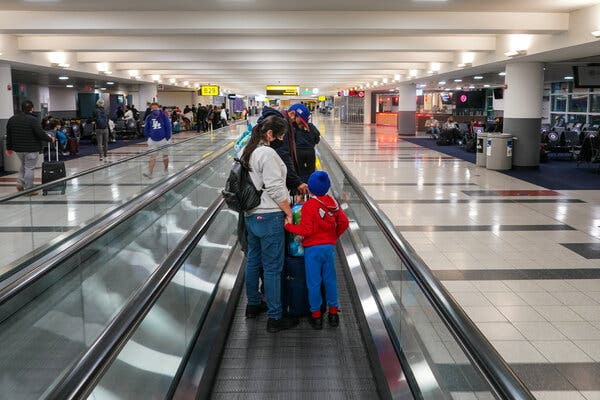 There has been an uptick in travel for Thanksgiving, but passenger volumes are still down more than 60 percent from last year.