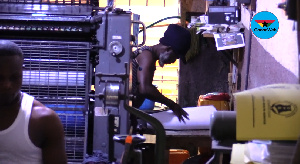 Printing houses have had to lay off two-thirds of their workers in the face of difficulties