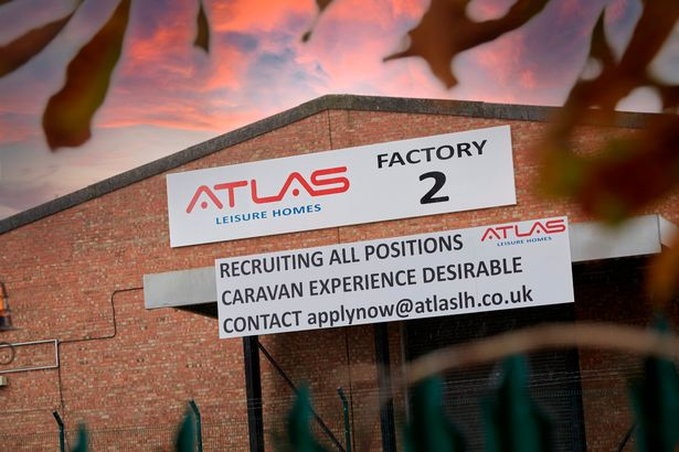 The new Atlas Leisure Homes premises on West Carr Business Park, Sutton Fields, Hull.