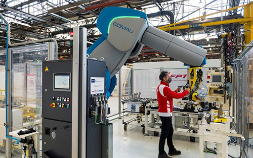 Robots Partnering with Humans: At APT Industrial Factory, 4.0 is Already a Reality