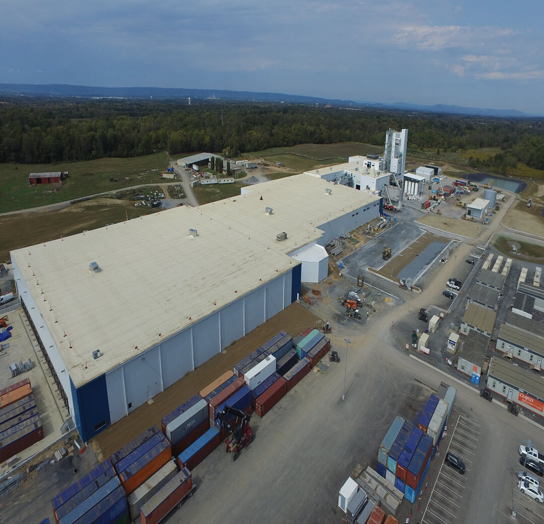Rockwool factory nears completion