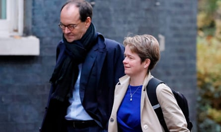Mike Coupe with Dido Harding