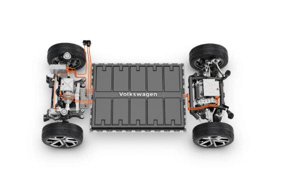 Volkswagen MEB chassis