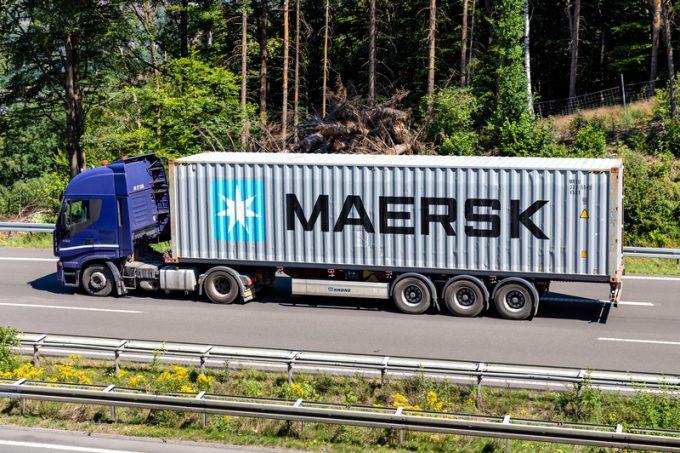 maersk truck